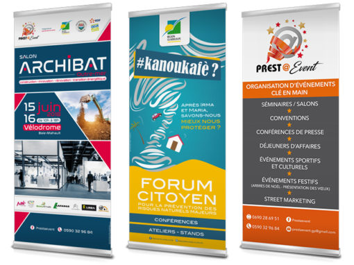 Roll-up – Archibat*/Région*/Presta Event*