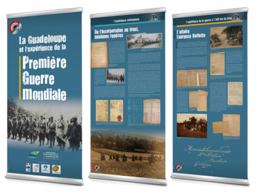 Roll-up – Archives départementales*