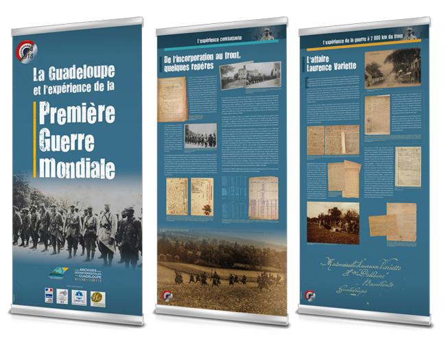 Roll-up - Archives départementales 2018