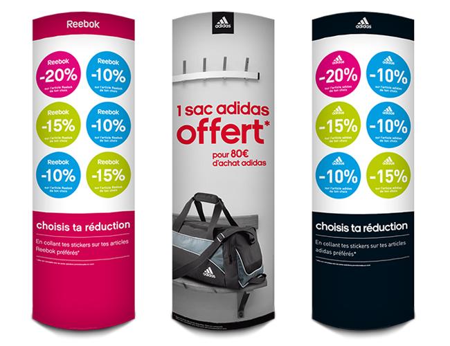 Totems - Adidas 2011