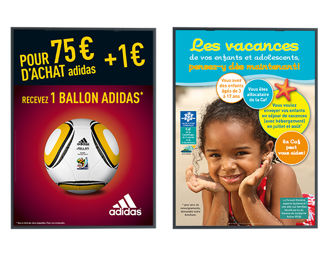 Affiches - Adidas 2010 - Caf Guadeloupe 2013