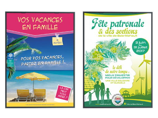 Affiches – Caf*/Baie-Mahault*