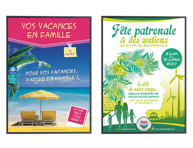 Affiches - Caf Guadeloupe 2015 - Ville de Baie-Mahault 2017