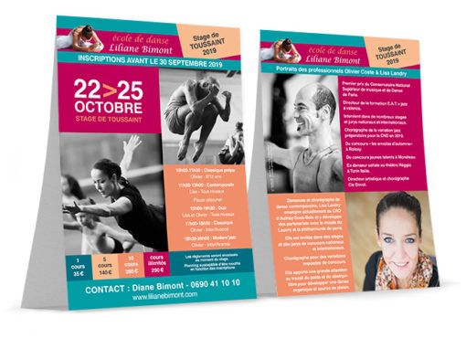 Flyer recto/verso – Bimont